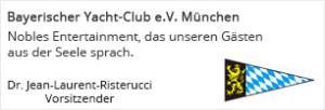 Bayerischer Yachtclub 60. Geburtstag