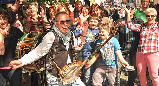 Mobile Künstler für Stadtfest - Straßenfest
