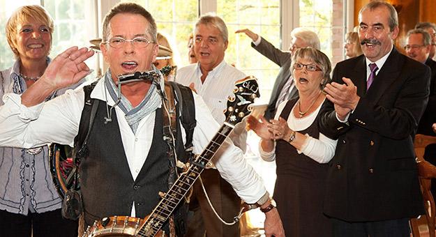 Musiker zur - für Silberhochzeit