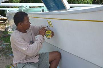 Sir Ernie Tolinero - Painter Boracay