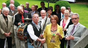 Straßenmusiker Sommerfest Stuttgart
