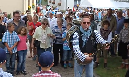 Straßenmusiker für Stadtfeste und Strassenfeste